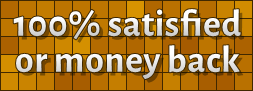 100% satisfied or money back